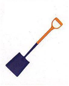 Polyfibre Square Mouth Shovel